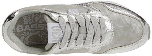 BASS3D 041273, Chaussures femme Argenté