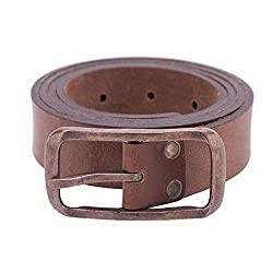 Spykar Mens Leather Brown Belts