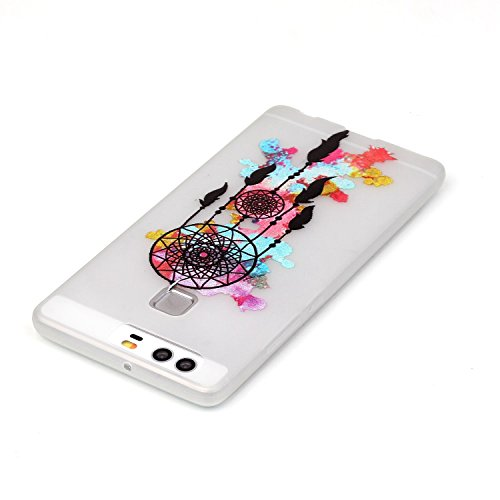 Voguecase® Per Apple iPhone 5 5G 5S, Custodia Silicone Morbido Flessibile TPU Custodia Case Cover Protettivo Skin Caso (Nero - unicorno) Con Stilo Penna graffiti / Campanula