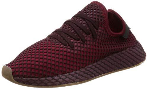 adidas Herren Deerupt Runner Gymnastikschuhe, Rot Collegiate Burgundy/Ash Green S18, 45 1/3 EU -