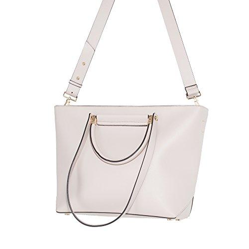 Parfois - Taschen Einfaches Pvc Shopper Schwarz - Damen Ecru