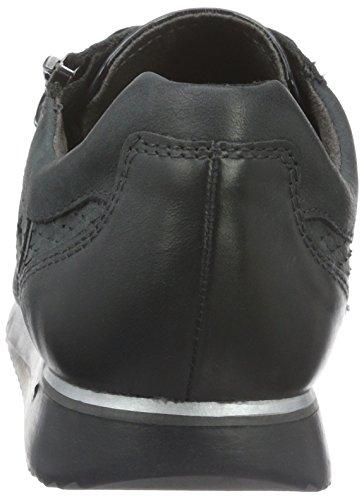 Tamaris 23607, Sneakers Basses Femme Noir (NAVY NUBUC/STR 871)