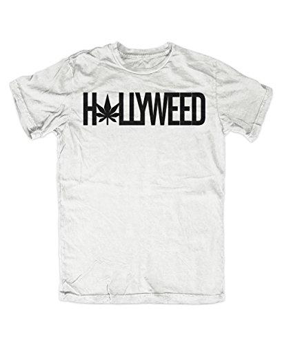 Hollyweed T-Shirt Weiß