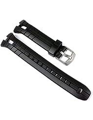 Timex T5K143-Band - Correa para reloj, color negro