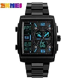 Honhx Mode Sport Uhr Männer Im Freien Digitale Uhren Led Wasserdichte Military Luxus Elektronische Datum Uhr Armband Männer Uhren