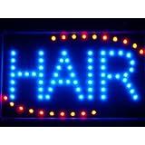 LAMPE NEON ENSEIGNE LUMINEUSE LED led006-b Hair Cut Salon OPEN LED Neon Light Sign