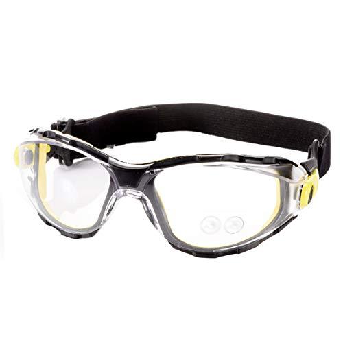 WZHGLASSES Schutzbrille Winddicht Staubdicht Arbeitsschutz Spritzwassergeschützt Industrielle Gläser Für Sport Laufen Bergsteigen Camping Fahren Multi-Color Optional (Farbe : B)