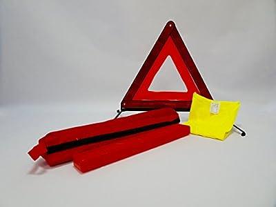 Sicherheits-Set (1 Warndreieck + 1 gelbe Weste + Verpackung)