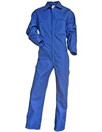 Mono de trabajo (algodón), color azul