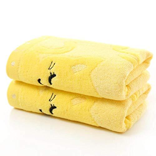 CAIDUD Weiche Baumwolle Cute Cartoon Cat-Printed Baby Gesicht Handtuch Stickerei Neugeborenen Handtücher-Gestickte Hinweis Katze kleines Handtuch