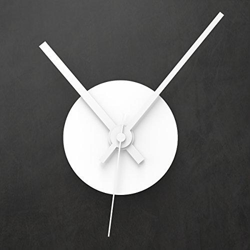 """Reloj de pared SOLO CLOCK """"Disco"""" de Wandkings, con mecanismo y manecillas: disponible en 13 colores (color: Aguja horaria= blanco mate, minutero= blanco)"""