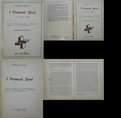 J 8945 VOLUME I PROMESSI SPOSI DI ALESSANDRO MANZONI A CURA DI MARINA GHILARDI 1988