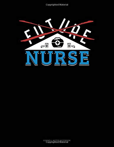Future Nurse: Cornell Notes Notebook por Jeryx Publishing