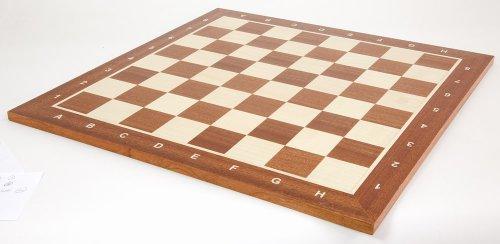 Holz Furnier Mdf (Turnier-Schachbrett nach Bundesliga-Standard für Staunton 5)