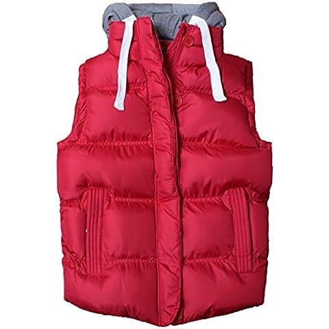 Capucha sin mangas de las mujeres de las nuevas señoras Quilted Gilet Vest Bodywarmer Crop Top 8-16
