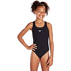Speedo Endurance - Bañador para niña, Negro, ES : 14 años