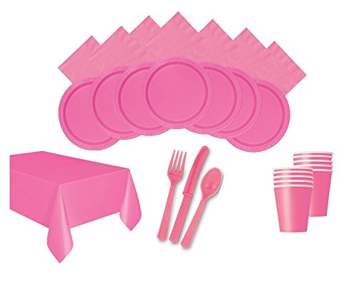 Party-Zubehör, Farbe:Hot Pink (Farbe Party Supplies)