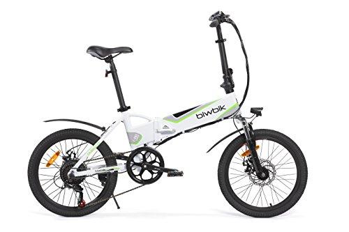 Biwbik Traveller 2.0 Bicicleta Eléctrica, Unisex adulto, Blanco, M