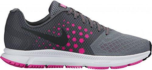 2bea5a134a555 Intersport - Nike Wmns Nike Zoom sábana - Cool Grey/Black de FR pnk de dk  gry, Cool Grey/Black-FR pnk-dk, 9