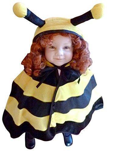 Bienen-Kostüm, AN72 Gr. 74-98, für Klein-Kinder, Babies, Bienen-Kostüme Biene Kinder-Kostüme Fasching Karneval, Kleinkinder-Karnevalskostüme, Kinder-Faschingskostüme, Geburtstags-Geschenk (Biene Kostüm Kind Größe)