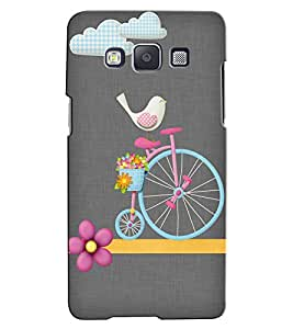 Citydreamz Cycle/Birds/Flowers Hard Polycarbonate Designer Back Case Cover For Samsung Galaxy J2 2016 Edition