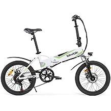 Biwbik Traveller 2.0 Bicicleta Eléctrica, Unisex adulto, Blanco, ...