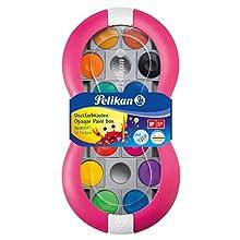 Pelikan 700016 Space+ -Set di 24 tavolozza Integrata di miscelazione, Colore: Magenta, Multicolore