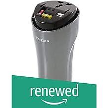 (Renewed) Targus APV018AP 200W AC Automotive Power Inverter with USB Fast Charging Port
