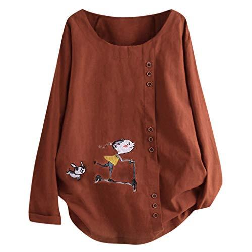 SANFASHION Maman ❤ B/éb/é T Shirt Maternit/é Grossesse,SANFAHSION Tops Blouse Femme Enceinte Col Ronde Slim /Él/égant Blouses T-Shirt Unis Casual Grossesse