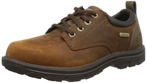 Skechers Segment - Bertan, Men Derby, Brown (Choc - Chocolate), 8 UK...