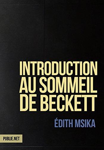 Livre Introduction au sommeil de Beckett epub pdf