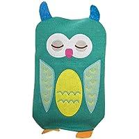 1L Wärmflasche Klassische Premium Hot Rubber Bag mit Soft Cover, Eule, A8 preisvergleich bei billige-tabletten.eu