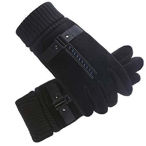 41NG2rDoS%2BL. SS500  - Gloves Male Winter Thicken Velvet Outdoor Cycling Riding Keep Warm Cotton Motorcycle Student Cold Protection Velvet Touch Screen GAOFENG
