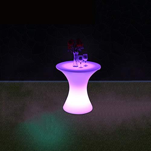 Paddia Silla Taburete plástico LED Luminoso Muebles