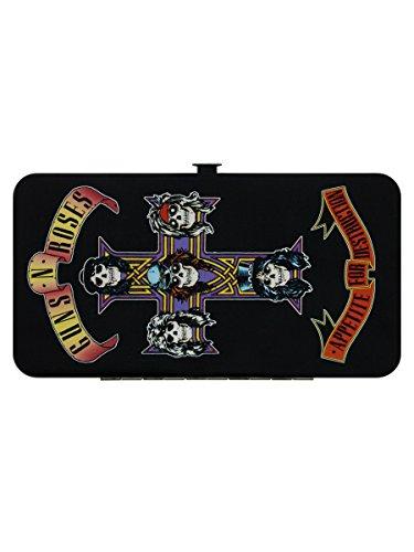 Guns N' Roses portefeuille articulé GNR motif Appetite For Destruction
