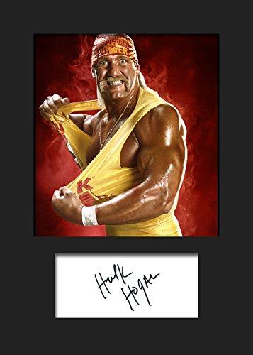 Hulk Unterzeichnet Wwe (Hulk Hogan WWE, signiert, A5Print)