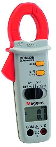 Megger 1000-304 DCM320 Pinza Amperimétrica Rango De Corriente: 19,99 A, 199,9 A, 400 A (CA)