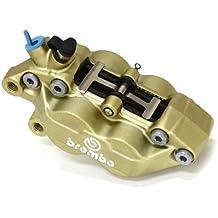 Brembo four-piston pinzas izquierda oro 4pot Casting (Casting) tipo 20.5165.58