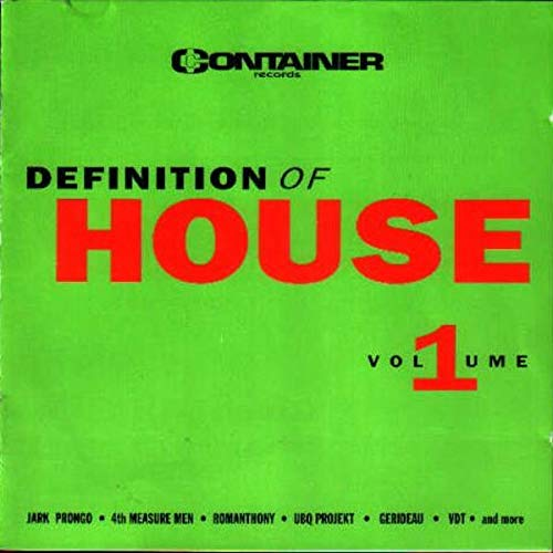Definition of House Vol.1
