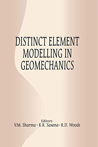 Distinct Element Modelling In Geomechanics por K.r. Saxena Gratis