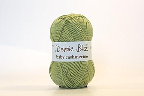 Debbie Bliss Baby Cashmerino Strickgarn, 50g Apple (002)