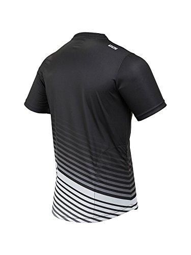 IXS Herren Jersey Spunda black/White