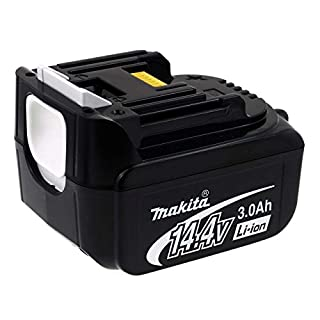 Rechargeable battery for power tools Makita type BL 1430 / 1940653 3000mAh Original, 14,4V, Li-Ion