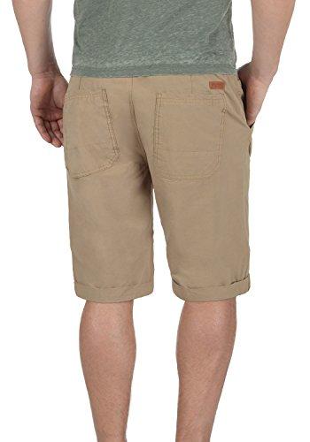 BLEND Claude Herren Chino-Shorts kurze Hose Business-Shorts aus 100% Baumwolle  Safari ...