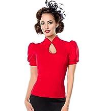 Suchergebnis auf Amazon.de für  rockabilly shirt damen - Mit Prime ... 504d735fa9