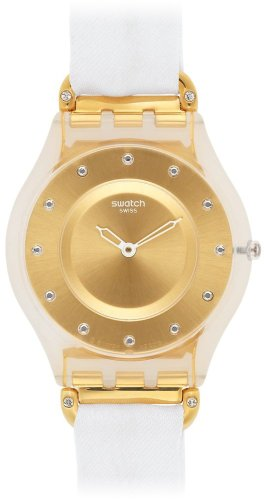 Swatch Reloj de cuarzo Woman WHITE SILK SFK374G 34.0 mm