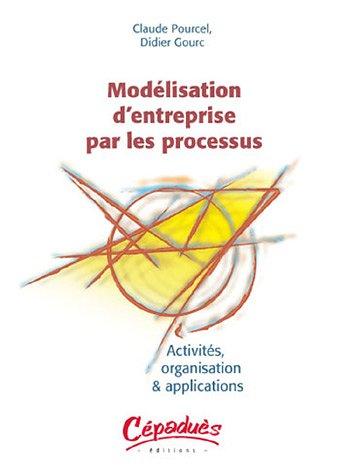 Modelisation d'entreprise par les processus : Activité, organisation & applications