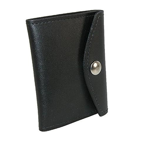 Boston Leather, Porte-carte d'identité Homme - noir - Taille Unique