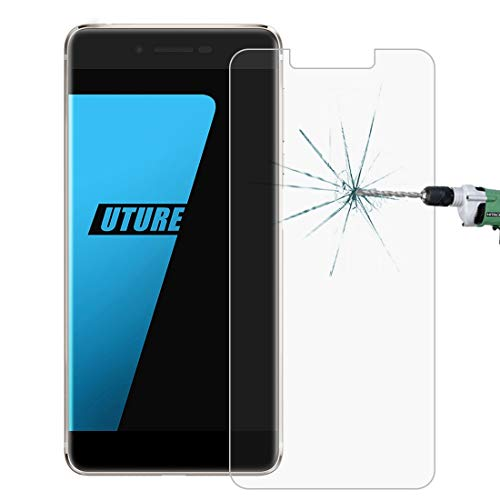 TEMPEREDGLASSFILMLJG for Ulefone Future (MPH0038) 0,26 mm 9 H Oberflächenhärte 2,5 D Gebogene Folie aus gehärtetem Glas
