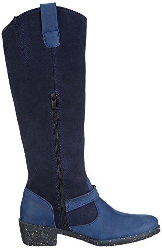 El Naturalista NC52 QUERA Damen Langschaft Stiefel Blau (Ocean)
